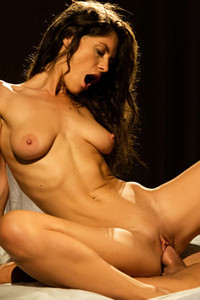 Model Lana Seymour in She
